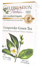 Green Tea Gunpowder Organic 24 BAG