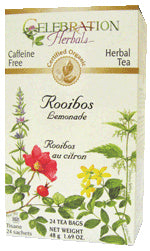 Rooibos Red Tea Lemongrass Organic 24 BAG