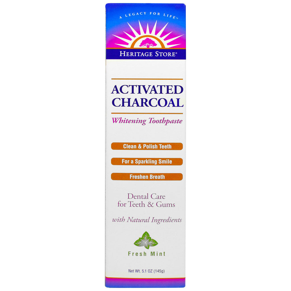 Activated Charcoal Toothpaste 4.3 OZ
