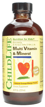 Multi Vitamin & Mineral 8 OZ