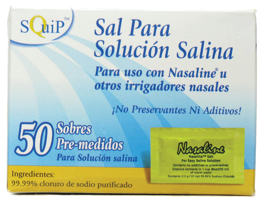Nasaline Salt Packets 50 PKT