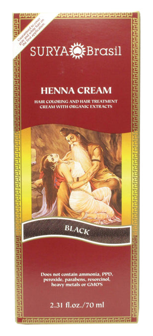 Henna Cream Black 2.3 OZ