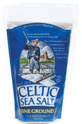 Fine Ground Sea Salt Bag 16 OZ