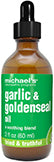 Garlic & Goldenseal Oil 2 OZ