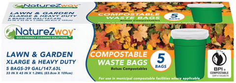 39 Gallon Waste Bags 5 CT