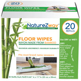 Floor Wipes 20 CT