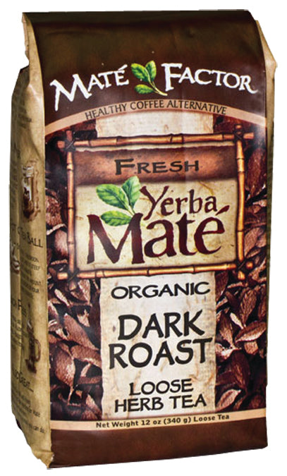 Dark Roast Yerba Mate 12 OZ