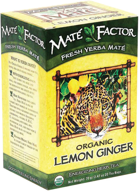 Lemon Ginger Org Mate 20 bag