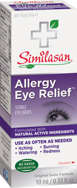 Allergy Eye Relief 10ml Eye Drops .33 OZ