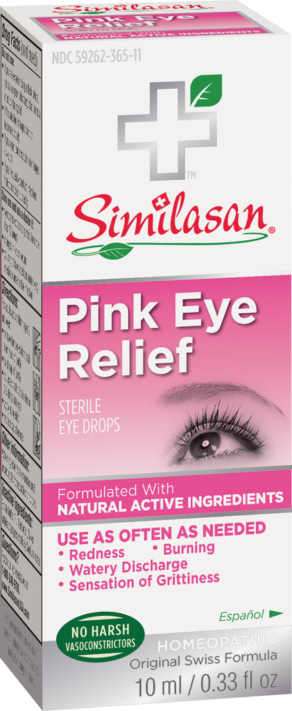 Pink Eye Relief 10ml Drops .33 OZ