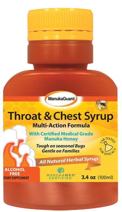Throat & Chest Syrup 3.38 OZ