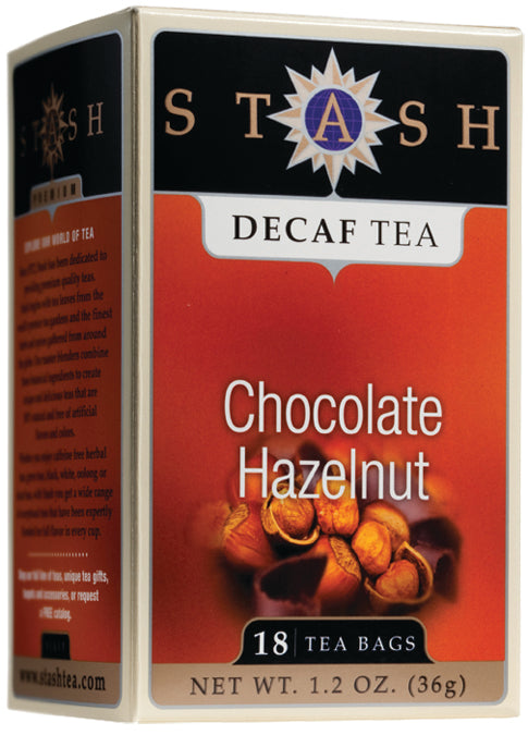 Chocolate Hazelnut Tea Decaf 18 CT