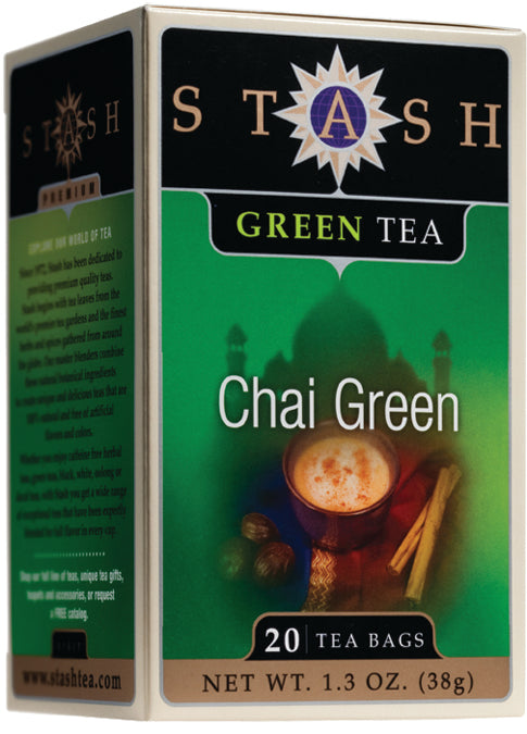 Premium Green Chai Tea 20 CT
