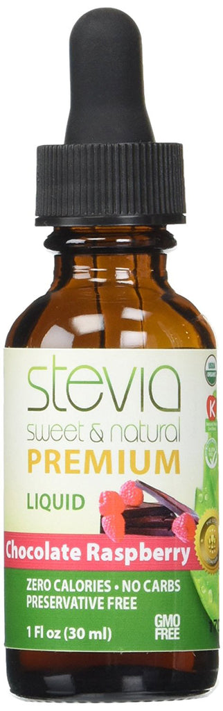 Chocolate Raspberry Stevia Liquid 1 OZ