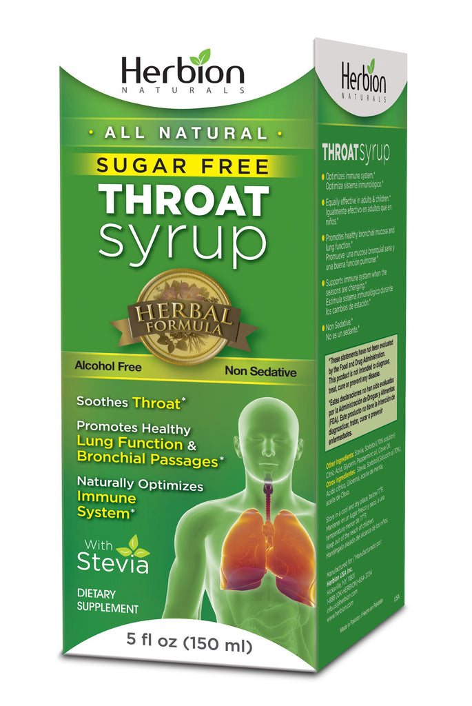 Throat Syrup Sugar Free 5 OZ