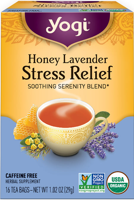 Honey Lavender Stress Relief 16 BAG