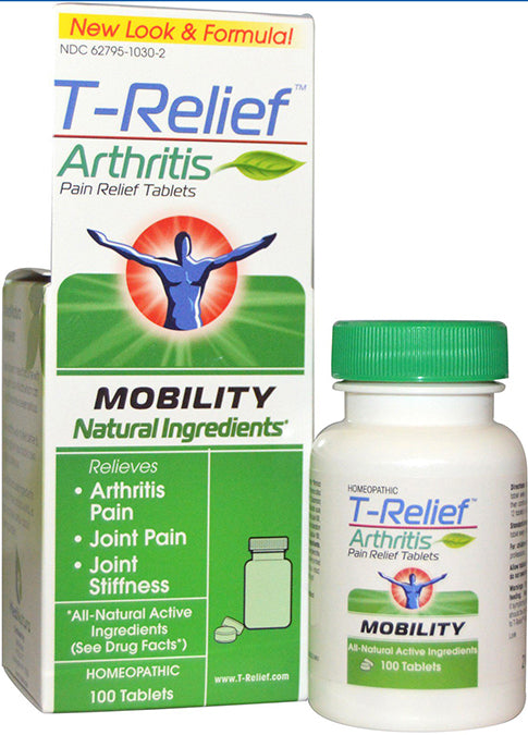 T-Relief Arthritis Tablets 100 TAB