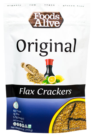 Original Flax Crackers 4 OZ