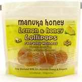 Manuka Lollipops Lemon 12 CT