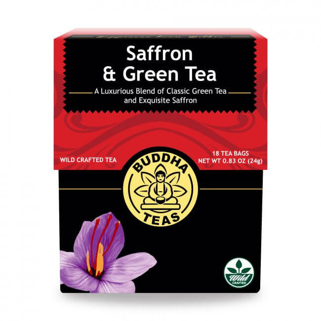 Saffron & Green Tea 18 BAG