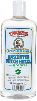 Witch Hazel Unscent Alcohol Fr 12 OZ