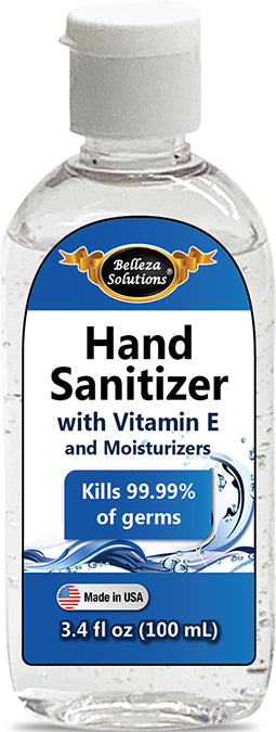 Belleza Solutions Hand Sanitizer 3.4 OZ