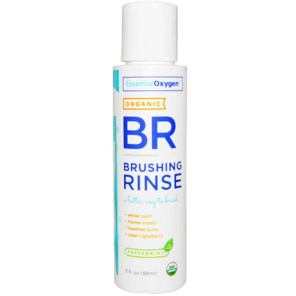 Peppermint BR Brushing Rinse Travel 3 OZ