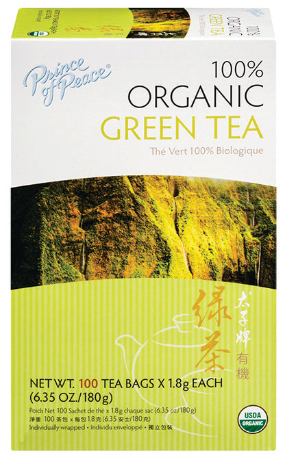 Organic Green Tea 100 BAG