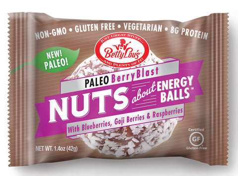 Berry Blast Paleo Energy Balls 12-BOX