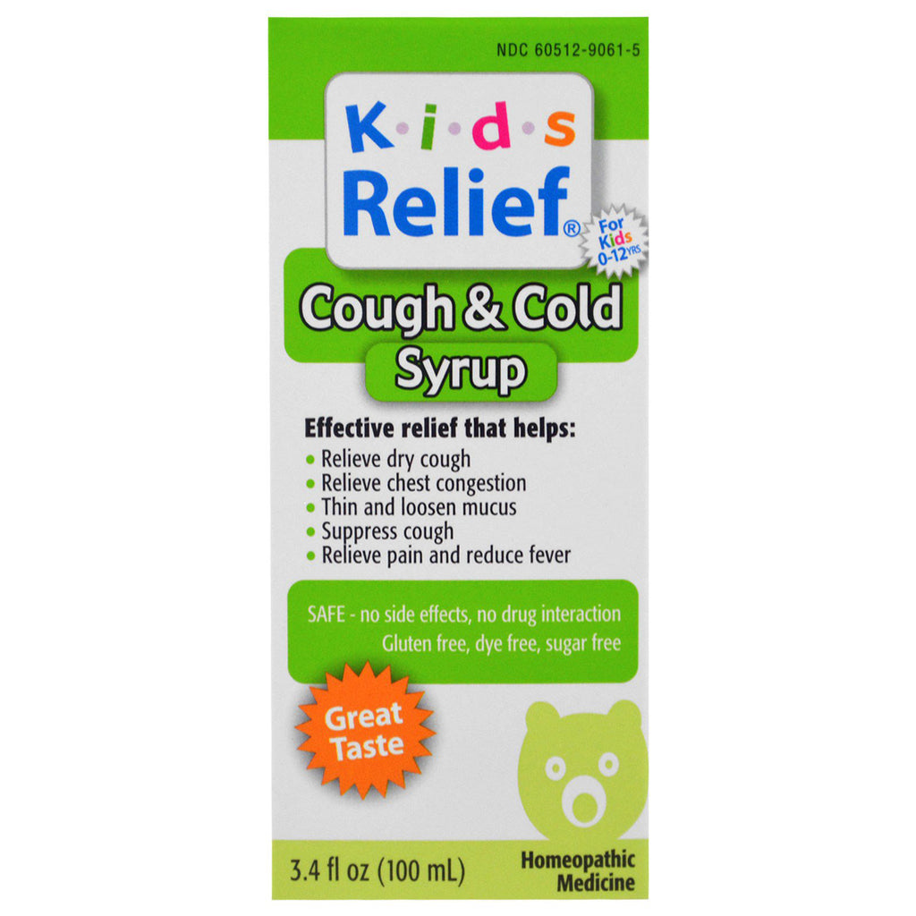 Kids Relief Cough & Cold 8.5 OZ