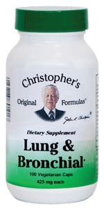 Lung & Bronchial Formula 100 CAP
