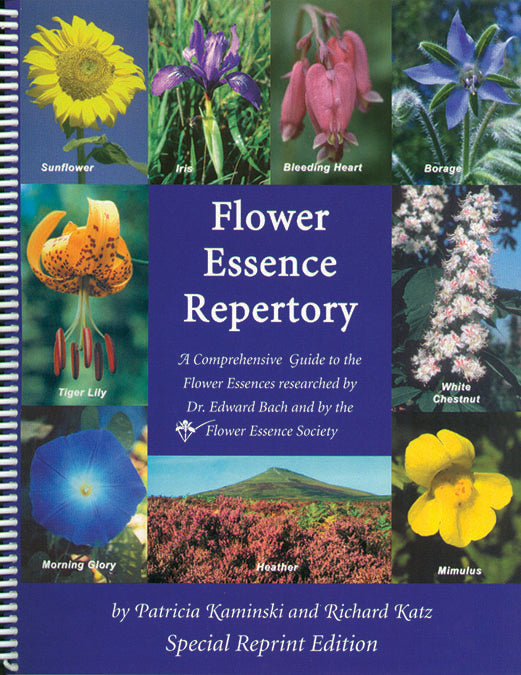 Flower Essence Repertory Book BOOK