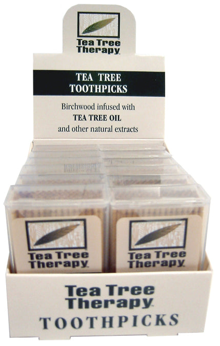 Tea Tree Toothpicks 100ct 12-CAS