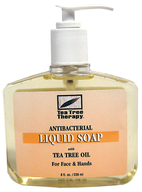 Antiseptic Tea Tree Liquid Soap 8 OZ