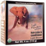 Hair Color Light Brown 4 OZ
