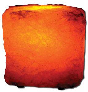 Large Tea Light Salt Lamp 6lbs 1 EA
