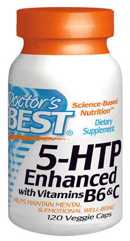5 HTP w- Vitamin B6 and C 120 VGC