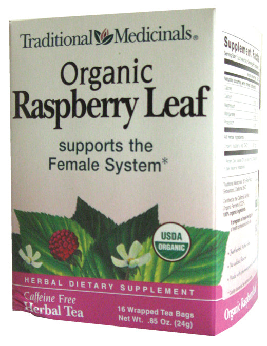 Raspberry Leaf Tea Organic 16 BAGS