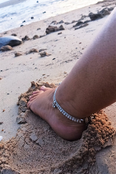 Metal Anklet with Bells