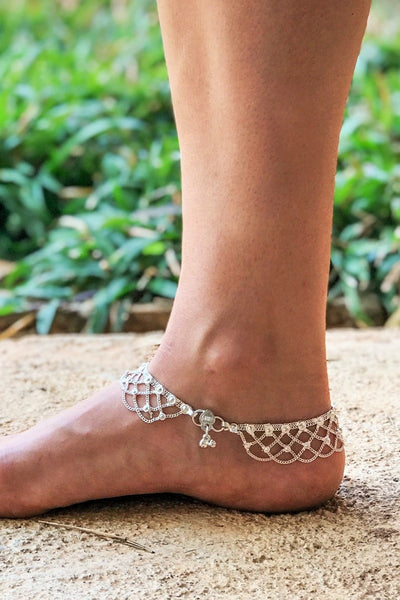 Metal Lace Anklet