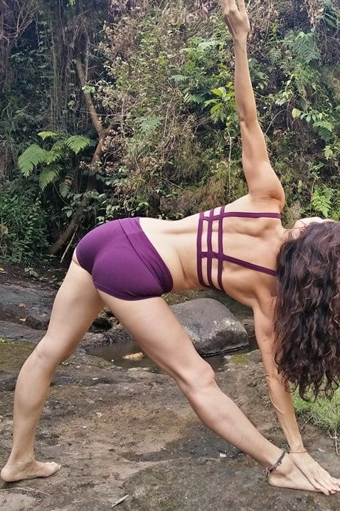 Plum Yoga Shorts