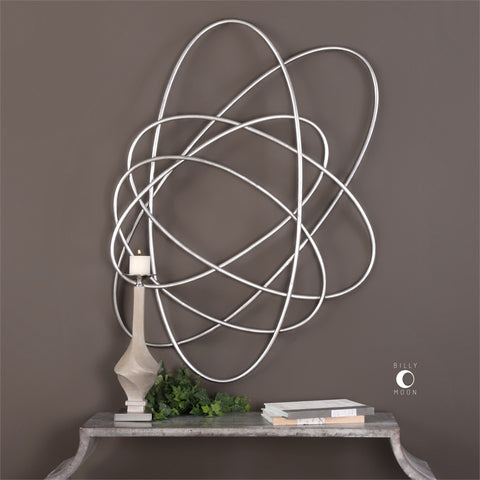 Orbital Metal Wall Decor ~ Free Shipping
