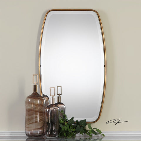 Canillo Mirror ~ Beautiful Half Bath Small Vanity Mirror - Free Shipping