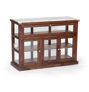 Shop Showcase Display (Wood and Glass) ~ Free Shipping