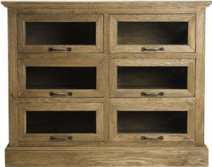 Battier Cabinet ~ Old Fashioned Library Shelf ~ Free Shipping