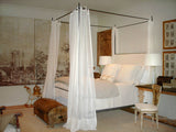 LOUIS XVI IRON CANOPY BED(Queen Size Only) ~ Free Shipping