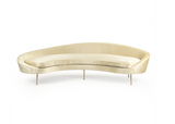 Babette Sofa ~ a Sleek Curved Back contemporary retro sofa ~ Free Shipping