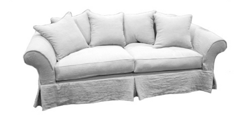 Sophisticated Collection Slipcovered  Sofa ~ Free Shipping