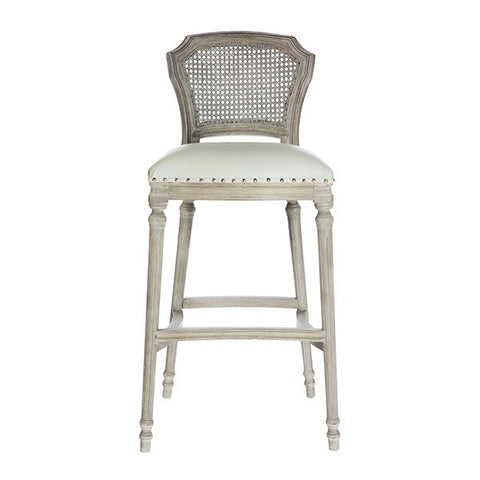 CHELSEA BAR STOOL IN LINEN ~ Free Shipping