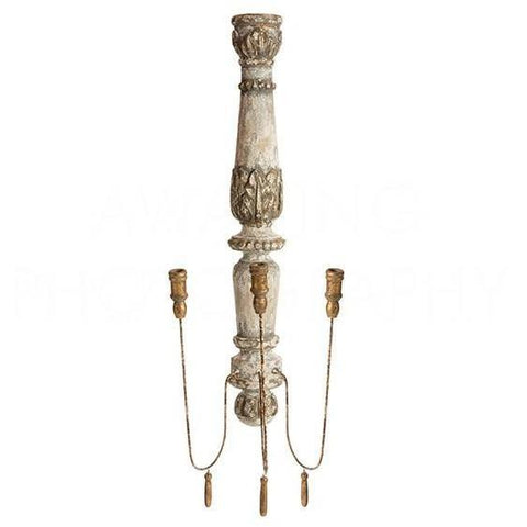 Chateau Pinot Wall Candelabra ~ Decorator Favorite